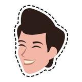Androgynous man icon image. Illustration design Royalty Free Stock Image