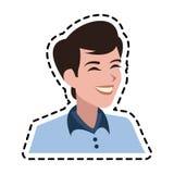 Androgynous man icon image. Illustration design Royalty Free Stock Photography