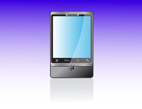 Android. Modern mobile phone of system  Android Stock Image