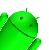 android 3d Стоковое Изображение
