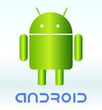 Android background. stock illustration