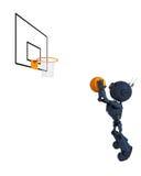 Android basketspelare Royaltyfri Foto