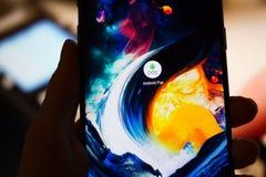 Android betaalt de dienst Royalty-vrije Stock Afbeelding