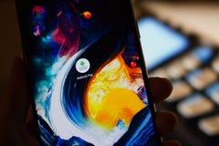 Android betaalt de dienst Stock Afbeeldingen