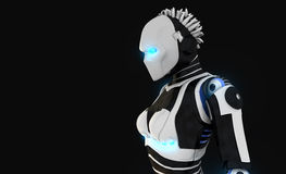 Android character. 3d render of android character Royalty Free Stock Photography