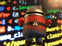 Android-codeur Stock Foto's