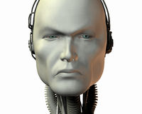 Android, cybernetic intelligence Stock Photo