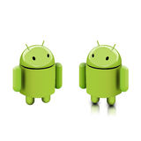 Android dude. This is the Android dude stock illustration