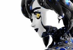 android dziewczyna Obraz Stock
