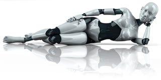 android kobieta Obraz Stock