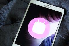Android marshmallowlogo Royaltyfri Bild
