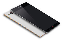 Android mobiltelefonvektor Arkivbilder