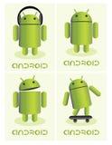 Android. OS logo,vector illustration Vector Illustration