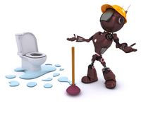 Android plumber Stock Photos