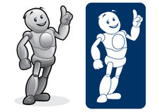 Android / Robot Character Royalty Free Stock Images