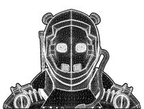 Android Robot Illustration Vector Royalty Free Stock Photography