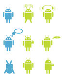 Android robots Royalty Free Stock Images