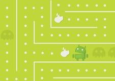Android-Spel royalty-vrije stock afbeeldingen