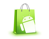 Android Store Stock Image