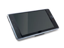 Android Tablet. An android tablet isolated against a white background Stock Photography