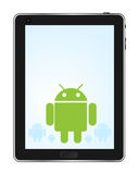 Android Tablet Royalty Free Stock Photo