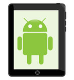 Android Tablet Royalty Free Stock Image
