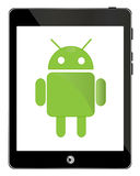 Android tablet Royalty Free Stock Photos
