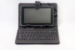 Android tablet with a keyboard Stock Photos