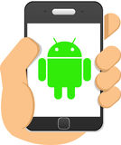Android-Telefoon Royalty-vrije Stock Afbeelding