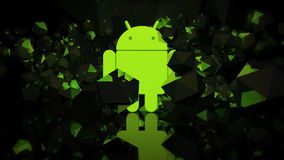 Android wallpaper Royalty Free Stock Photo