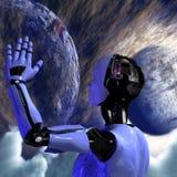 Androide Imagen de archivo libre de regalías