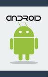 Androider Roboter stock abbildung