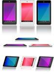 Androider Tabletten-Satz Stockbild