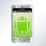 Androides Telefon vektor abbildung