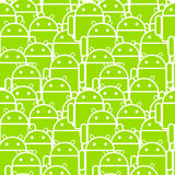 androidfolkhop Arkivfoton