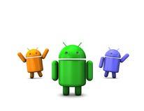 androidrobot arkivbild