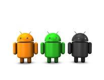 androidrobot royaltyfria foton