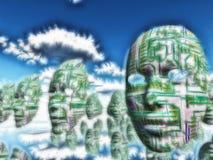 androids do dream ηλεκτρικά πρόβατα Στοκ εικόνες με δικαίωμα ελεύθερης χρήσης