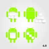 Androidu marshmallow Zdjęcie Stock
