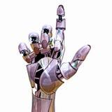 androidu pointer Fotografia Royalty Free