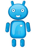 androidu postać z kreskówki Zdjęcia Royalty Free