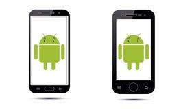 Androidu telefon komórkowy Fotografia Royalty Free
