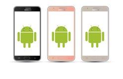 Androidu telefon komórkowy Zdjęcie Royalty Free