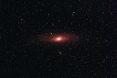 Andromeda Galaxy stockbild