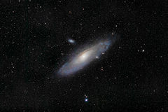 The Andromeda Galaxy Royalty Free Stock Image