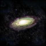 Andromeda Galaxy. 3d illustration, the Andromeda Galaxy Stock Images
