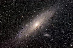 Andromeda Galaxy Foto de Stock Royalty Free