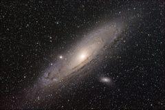 Andromeda Galaxy Foto de Stock Royalty Free