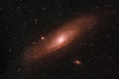 Andromeda Galaxy stock photos