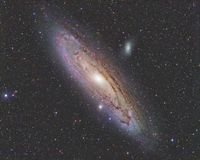 Andromeda Galaxy royalty free stock photography